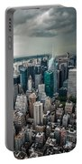 cloudy Manhattan Portable Battery Charger