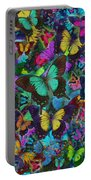 Cloured Butterfly Explosion Portable Battery Charger