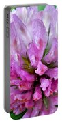 Clover Flower Upclose Portable Battery Charger