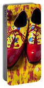 Clown Shoes And Balls Portable Battery Charger