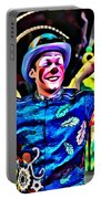 Clowned Blue Portable Battery Charger