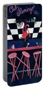Club Flamingo Portable Battery Charger