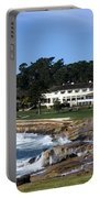 Clubhouse At Pebble Beach Portable Battery Charger