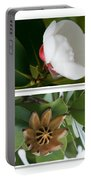 Clusia Rosea - Clusia Major - Autograph Tree - Maui Hawaii Portable Battery Charger by Sharon Mau