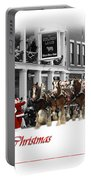 Clydesdale  Team Christmas Card Portable Battery Charger