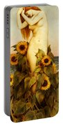 Clytie Portable Battery Charger by Evelyn De Morgan