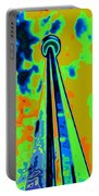 Cn Tower Abstract Portable Battery Charger