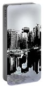 Vancouver  Canada Coal Harbour Triptych Left Panel Portable Battery Charger