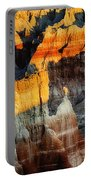 Coal Mine Canyon Aglow Portable Battery Charger