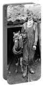 Coal Miner & Mule 1940 Portable Battery Charger