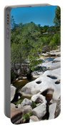 Coarsegold Creek Bed In Park Sierra-ca Portable Battery Charger