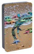 Coastal Crab Collection Portable Battery Charger