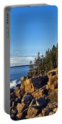 Coastal Maine Landscape. Portable Battery Charger