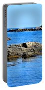 Coastal Route 1 In Maine Portable Battery Charger