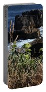 Coastal View From Cascais  Portable Battery Charger