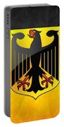Coat Of Arms And Flag Of Germany Portable Battery Charger
