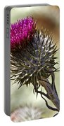 Cobwebby Thistle Portable Battery Charger