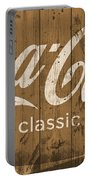 Coca Cola Classic Barn Portable Battery Charger