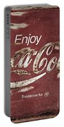 Coca Cola Faded Sign Portable Battery Charger