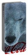 Coca Cola Polar Bear Portable Battery Charger