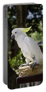 Cockatoo White Parrot Portable Battery Charger
