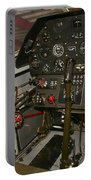 Cockpit Of A P-40e Warhawk Portable Battery Charger