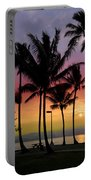 Coconut Island Sunset - Hawaii Portable Battery Charger