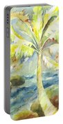 Coconut Palm Portable Battery Charger