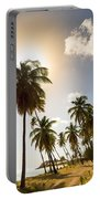 Coconut Trees Portable Battery Charger