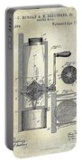 Coffee Mill Patent 1893 Portable Battery Charger