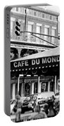 Coffee And Beignets Portable Battery Charger