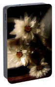 Coffee And Daisies  Portable Battery Charger