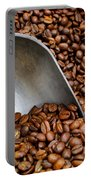 Coffee Beans With Scoop Portable Battery Charger