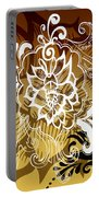 Coffee Flowers 10 Calypso Portable Battery Charger