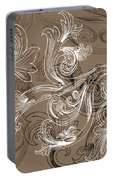 Coffee Flowers 2 Portable Battery Charger