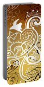 Coffee Flowers 5 Calypso Portable Battery Charger