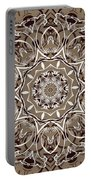 Coffee Flowers 7 Ornate Medallion Portable Battery Charger