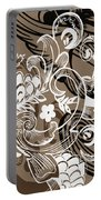 Coffee Flowers 8  Portable Battery Charger