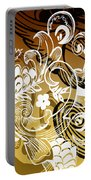 Coffee Flowers 8 Calypso Portable Battery Charger