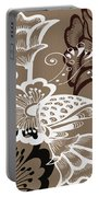 Coffee Flowers 9 Portable Battery Charger