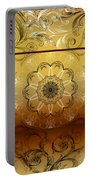 Coffee Flowers Calypso Triptych 4 Vertical Portable Battery Charger