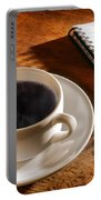 Coffee For The Writer Portable Battery Charger