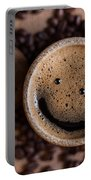 Coffee With A Smile Portable Battery Charger