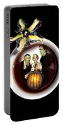 Coffee With The Munsters Portable Battery Charger