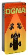 Cognac France F3 Grand Prix 1964 Portable Battery Charger