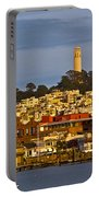 Coit Tower Golden Hour Portable Battery Charger