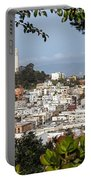 Coit Tower View Portable Battery Charger