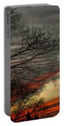 Cold Front Sunset Portable Battery Charger