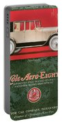Cole Aero Eight Vintage Poster Portable Battery Charger