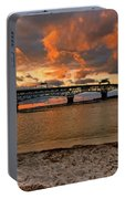 Coleman Bridge At Sunset Portable Battery Charger
